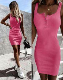 Šaty - kód 9458 - růžova
