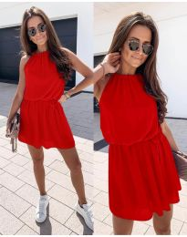 Šaty - kód 513 - červená