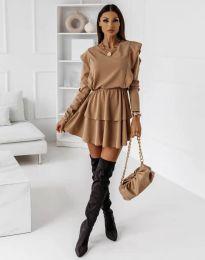 Šaty - kód 12042 - cappuccino
