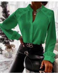 Košile - kód 9902 - zelená