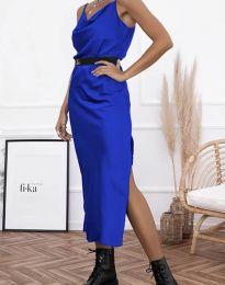 Šaty - kód 6231 - modrá