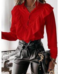 Košile - kód 9032 - červená