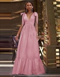 Šaty - kód 2743 - pudrová