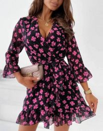 Šaty - kód 44188 - 1 - květinové