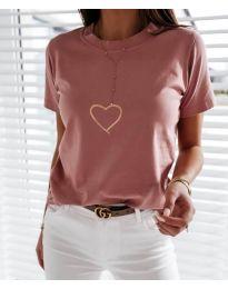 Tričko - kód 3700 - růžova