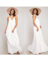 Šaty - kód 0508 - bílá