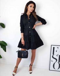 Šaty - kód 3852 - černá