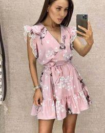 Šaty - kód 8125 - růžova