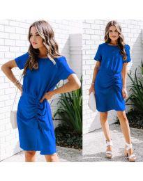 Šaty - kód 835 - tmavě modrá