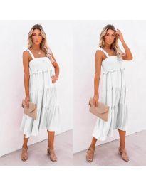 Šaty - kód 7791 - bílá