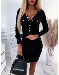 Šaty - kód 2064 - 1 - černá