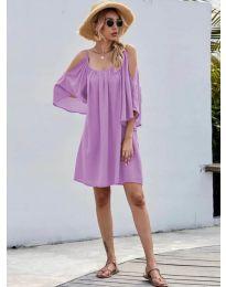Šaty - kód 3022 - fialová