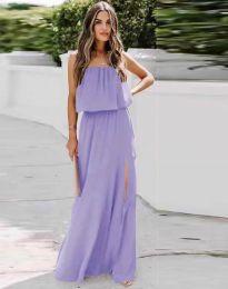 Šaty - kód 8871 - fialová