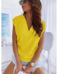 Tričko - kód 552 - žlutá