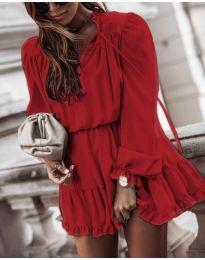 Šaty - kód 3231 - bordeaux