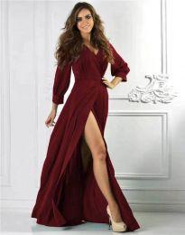 Šaty - kód 4118 - bordeaux