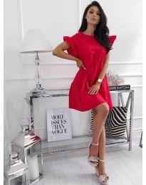 Šaty - kód 3145 - červená