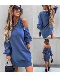 Šaty - kód 296 - modrá