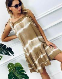 Šaty - kód 6426 - 2 - bežová