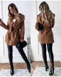 Kabát - kód 643 - hněda