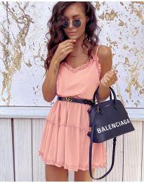 Šaty - kód 7758 - růžová