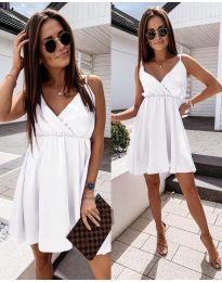 Šaty - kód 1000 - bílá