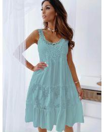 Šaty - kód 3232 - tyrkysový