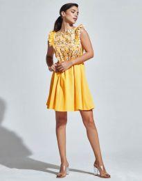 Šaty - kód 1482 - 3 - žlutá