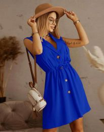 Šaty - kód 2702 - modrá