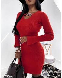 Šaty - kód 5666 - červená