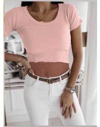 Tričko - kód 530 - růžová