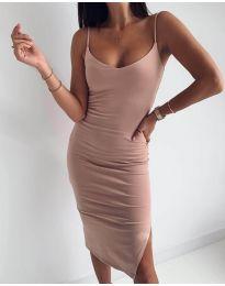 Šaty - kód 0088 - broskvová