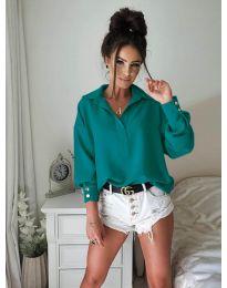 Košile - kód 9898 - tyrkysový