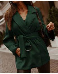 Kabát - kód 8282 - olivová  zelená