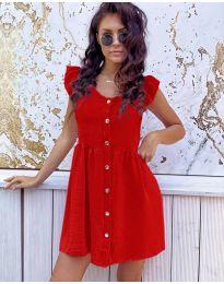 Šaty - kód 3033 - červená