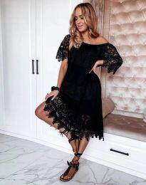 Šaty - kód 6979 - černá