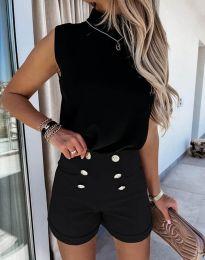 Krátké kalhoty - kód 6815 - černá