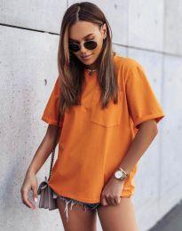 Tričko - kód 11953 - oranžový
