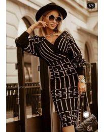 Šaty - kód 4441 - 2 - černá