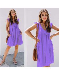 Šaty - kód 5090 - fialová