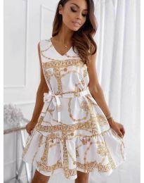 Šaty - kód 343 - bílá