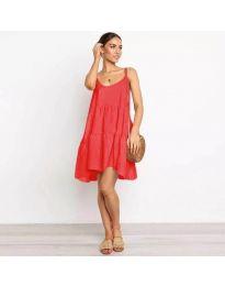 Šaty - kód 222 - červená