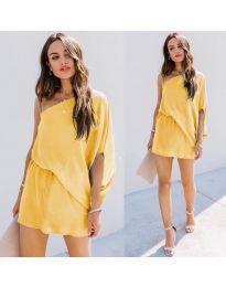 Šaty - kód 9933 - žlutá