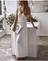 Šaty - kód 5261 - 2 - bíla