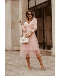 Šaty - kód 9994 - růžová