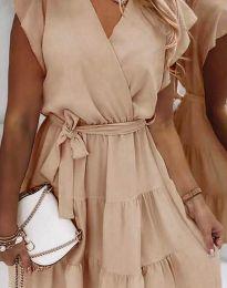 Šaty - kód 2345 - bežová