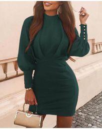 Šaty - kód 4016 - tmavě zelená