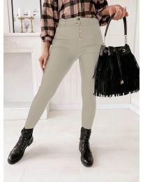 Kalhoty - kód 9095 - 1 - šedá