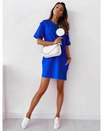 Šaty - kód 7236 - tmavě modrá