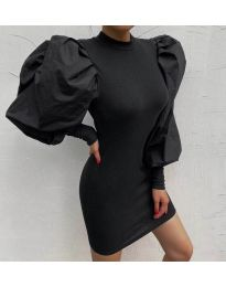Šaty - kód 3561 - černá